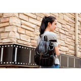 <bold>Fashion Backpack  <br>Vegan-Leather Fashion Backpack  - strapsandbrass.com