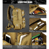 Backpack Military & Tactical <br> Nylon Backpack  - strapsandbrass.com