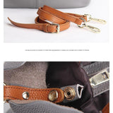 <bold>Bucket / Crossbody Bag <br>Genuine-Leather shoulder bags  - strapsandbrass.com