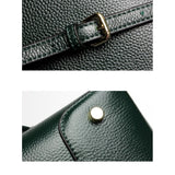 Top-Handle / Crossbody Bag  <br>Genuine-Leather Handbag  - strapsandbrass.com