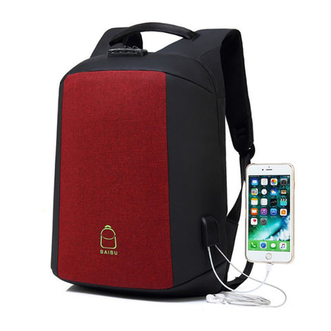 Backpack USB Charging & Anti-Theft<br> Ox Backpack  - strapsandbrass.com