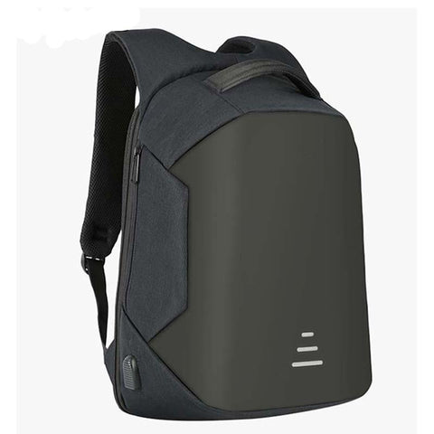 Copy of Backpack USB Charging & Anti-Theft<br>Vegan Leather Backpack  - strapsandbrass.com