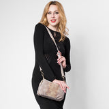 <bold>Crossbody / Shoulder Bag <br>Genuine-Leather Handbag  - strapsandbrass.com