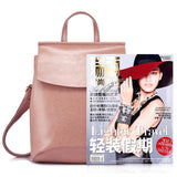 <bold>Fashion Backpack  <br>Genuine-Leather Handbag  - strapsandbrass.com