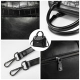 <bold>Top-Handle  / Shoulder Bag  <br>Vegan-Leather Handbag  - strapsandbrass.com