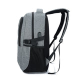 Backpack USB Charging <br> Canvas Backpack  - strapsandbrass.com