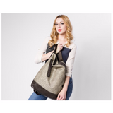 <bold>Hobo / Shoulder Bag  <br>Vegan-Leather Handbag  - strapsandbrass.com