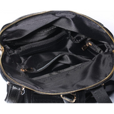 <bold>Fashion Backpack  <br>Genuine-Leather Fashion Backpack  - strapsandbrass.com
