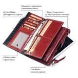 Wallet (RFID Blocking) <br> Genuine Leather Wallet  - strapsandbrass.com