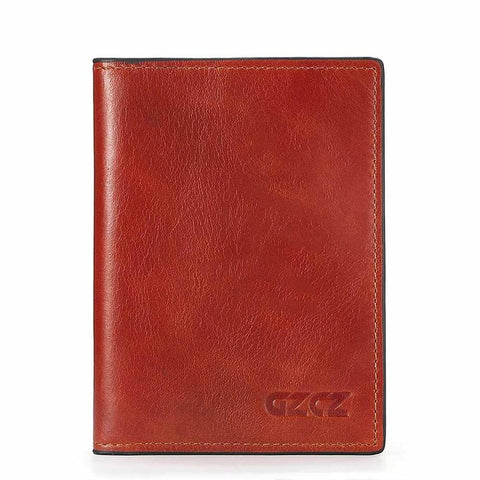 Wallet (RFID Blocking) <br> Genuine Leather Wallet Default Title - strapsandbrass.com