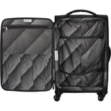 famous megalite vitality 8 wheel semi expander soft side carry-on Luggage  - strapsandbrass.com