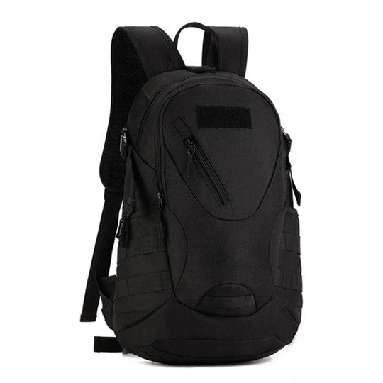 Copy of Backpack Military & Tactical <br> Nylon Backpack Black - strapsandbrass.com