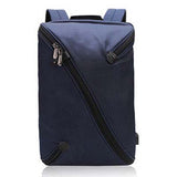 Backpack USB Charging & Anti-Theft <br> Nylon Backpack Blue - strapsandbrass.com
