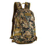 Copy of Backpack Military & Tactical <br> Nylon Backpack Digital Jungle - strapsandbrass.com