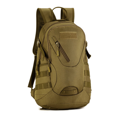 Backpack Military & Tactical <br> Nylon Backpack Khaki - strapsandbrass.com