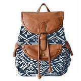 <bold>Casual Day Backpack  <br>Canvas Fashion Backpack Blue tuteng - strapsandbrass.com