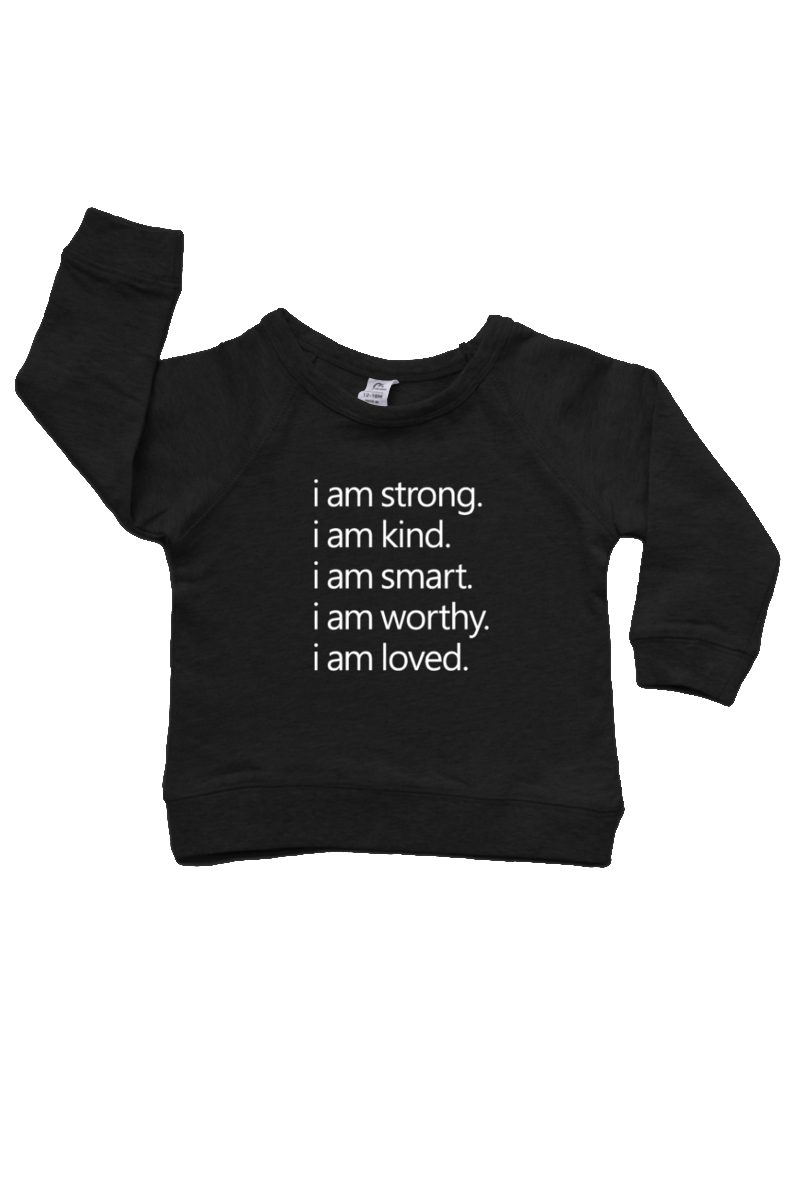 Affirmations | Organic Cotton Pullover