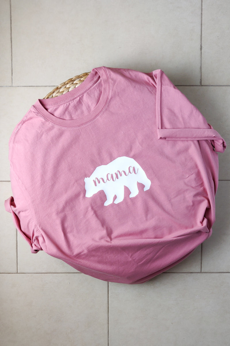 Mama Bear | Organic Cotton Tee | XL