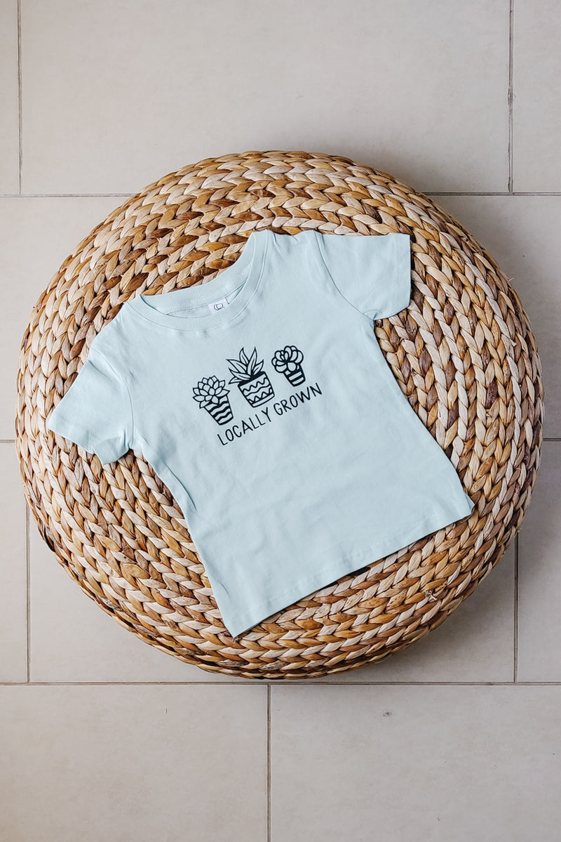 """Locally grown"" Organic Cotton Tee - Short-sleeve 2T"