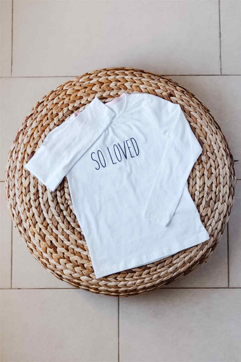 So Loved | Organic Cotton Tee | 4-6T
