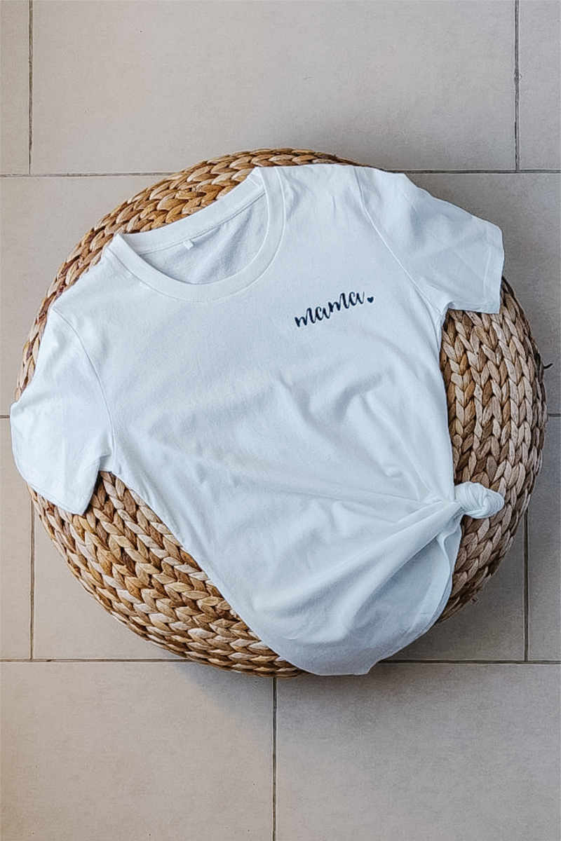 Whimsical Mama | Organic Cotton Tee | XS