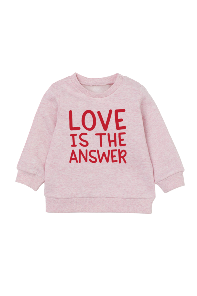 Love is the Answer | Organic Cotton Pullover
