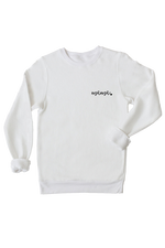 """Mama"" Bamboo Fleece Pullover - Lovely Font"