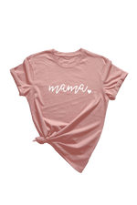 Rose Organic Cotton Tee (Multiple Design Choices)