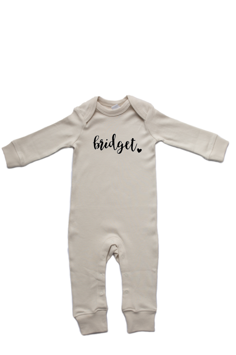 Multiple Designs| Natural Organic Cotton Romper