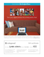 collagewall.com gift certificate
