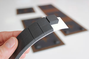 "Collagewall® 1x5"" Foam Spacer Strip"