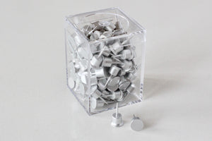 shay aluminum push pins 120-pack