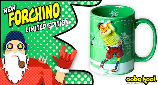 Forchino / The Golfer / Special Edition Collector Mug