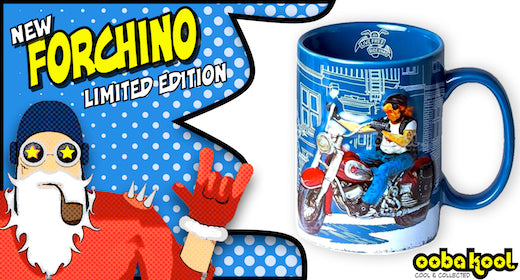 Forchino / The Motorbike / Special Edition Collector Mug