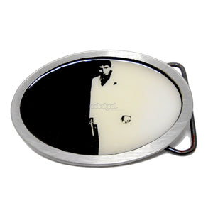 Al Pacino / Scarface Pewter Belt Buckle