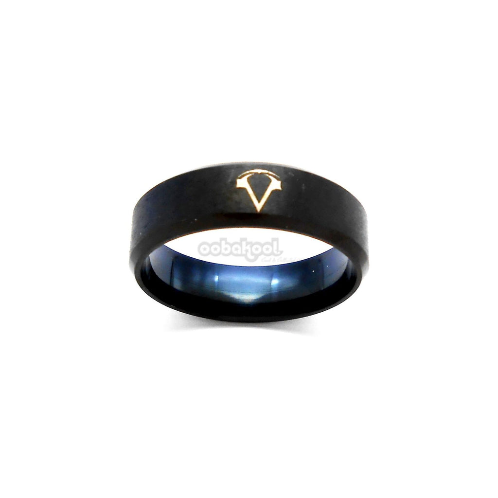 Commitment Ring / Black Alloy Steel