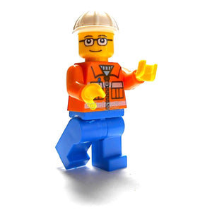 Construction Site Foreman / City Series Oobakool Minifigure