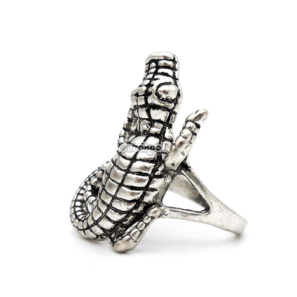 Crocodile Dundee / Alligator Ring Stainless Steel