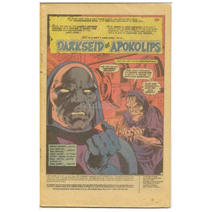 Darkseid Of Apokolips / Dc Vol 4 #19 Jul Aug 1978 Vintage Comic Book Books