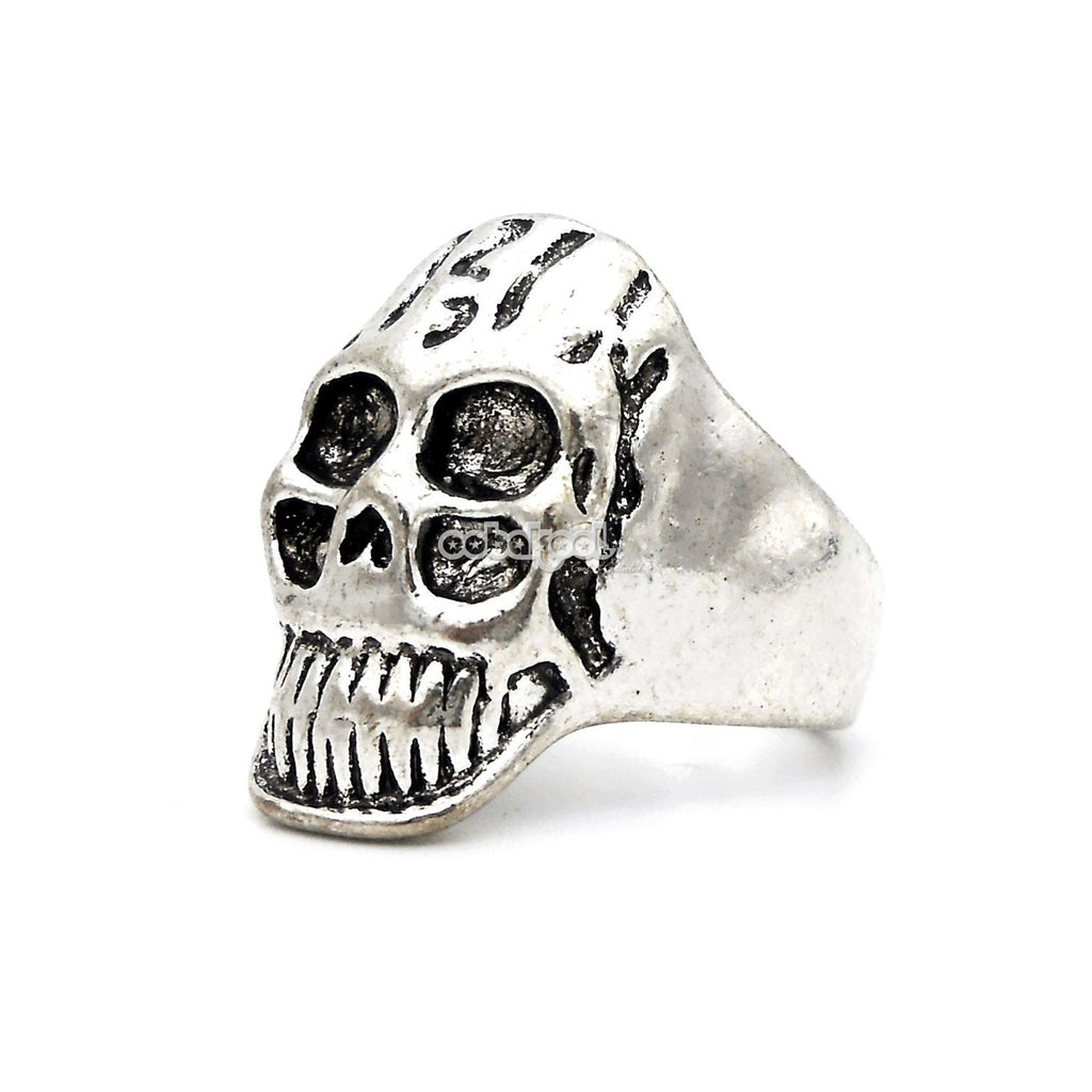 Death Punk / Skull Ring Stainless Steel