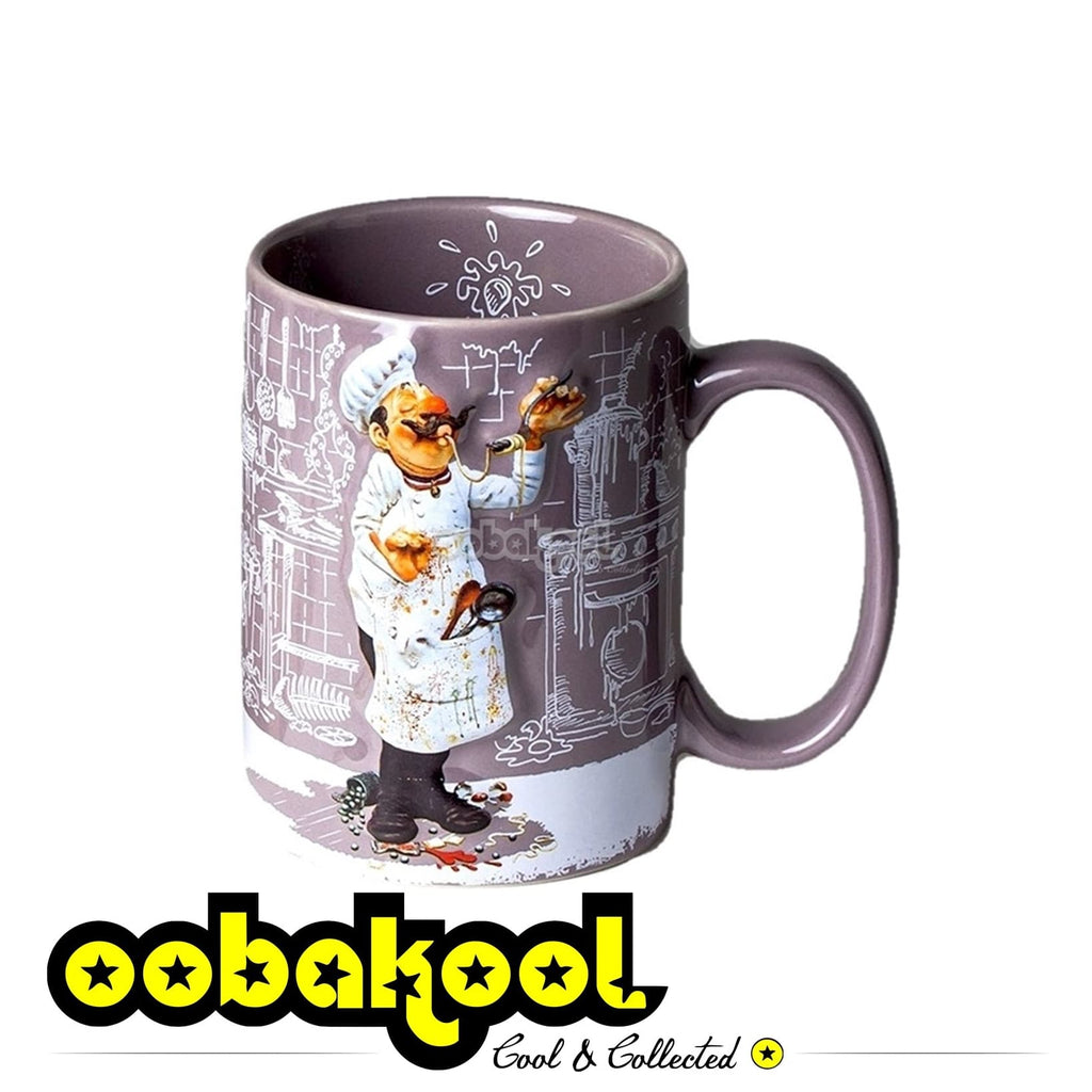 Forchino Comic Art / The Cook Mug Special Edition Sa Official Dealer Guillermo
