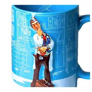 Forchino Comic Art / The Doctor Mug Special Edition Sa Official Dealer Guillermo