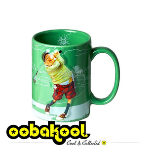 Forchino Comic Art / The Golfer Mug Special Edition Sa Official Dealer Guillermo