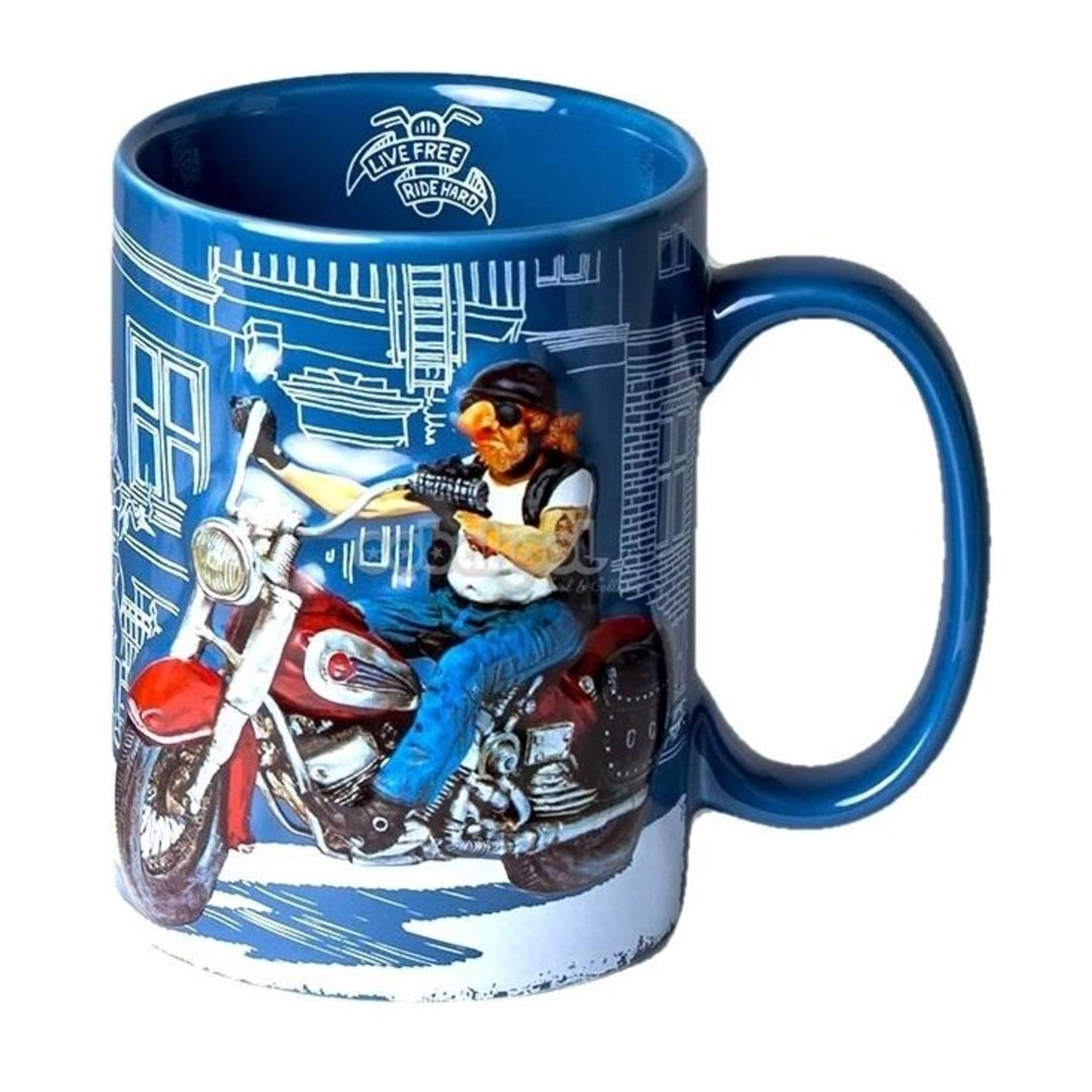 Art Comic The Decorative Special Forchino Motorbike Mug n0kwOP8