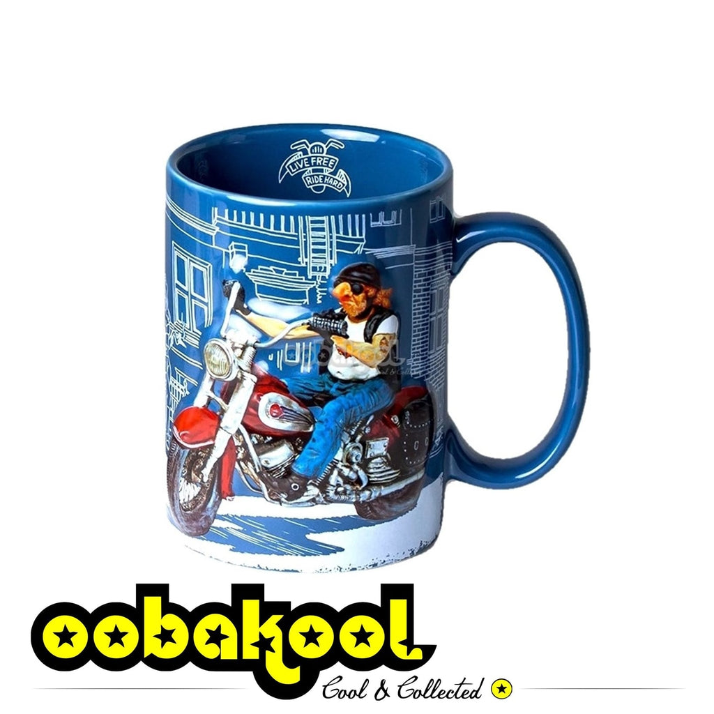 Forchino Comic Art / The Motorbike Mug Special Edition Sa Official Dealer Guillermo