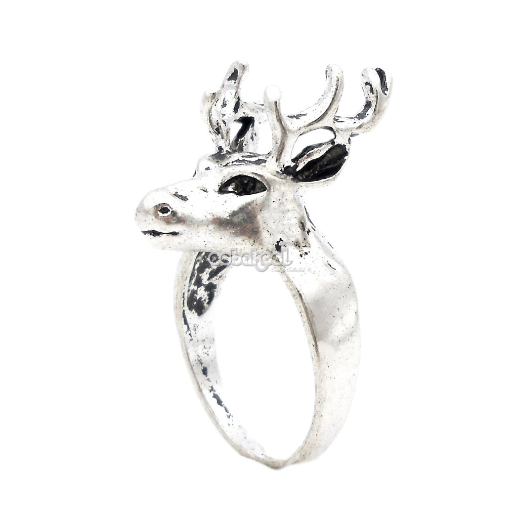 Game Of Thrones / Antlers Ring Stainless Steel