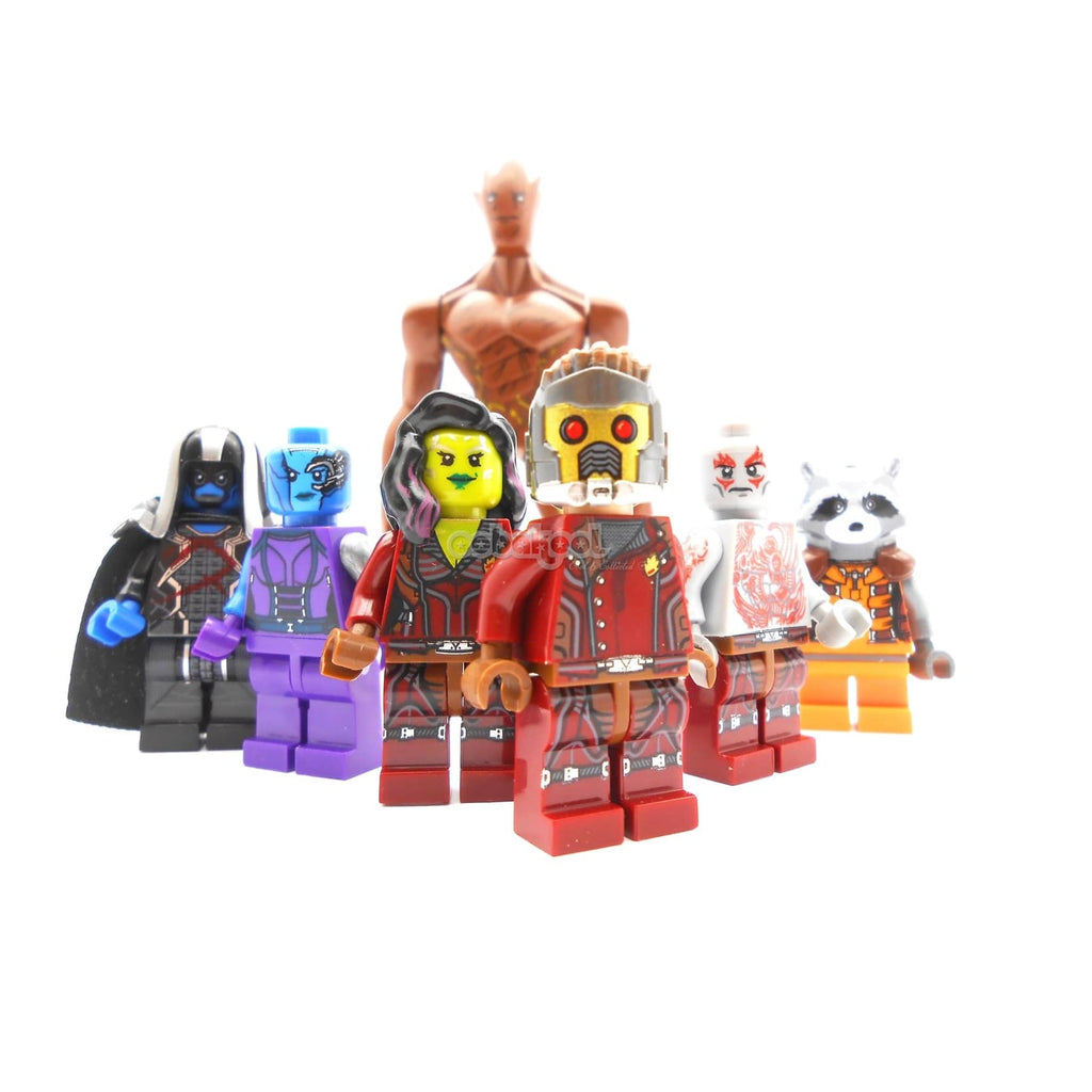 Guardians Of The Galaxy Vol. 1 / Special Movie Edition 7 X Oobakool Minifigure Set
