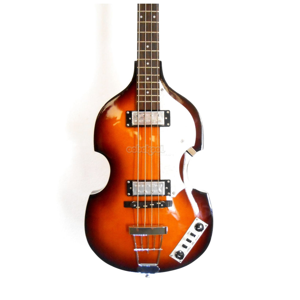 Hofner Icon Series Beatles Violin Bass / Sunburst Right-Hand Electric Guitar