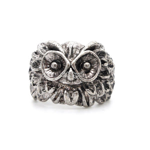 Legend Of The Guardians / Owl Ring Stainless Steel