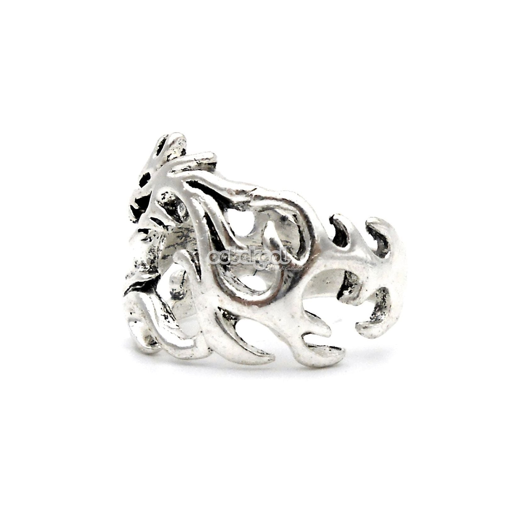 Rings - Mythical Creatures / Dragon Ring / Stainless Steel - Size 9